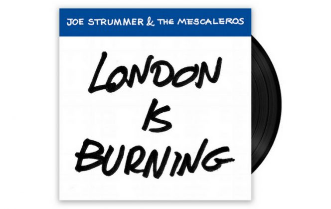 "London Is Burning - Joe Strummer & The Mescaleros - 7"" Vinyl"