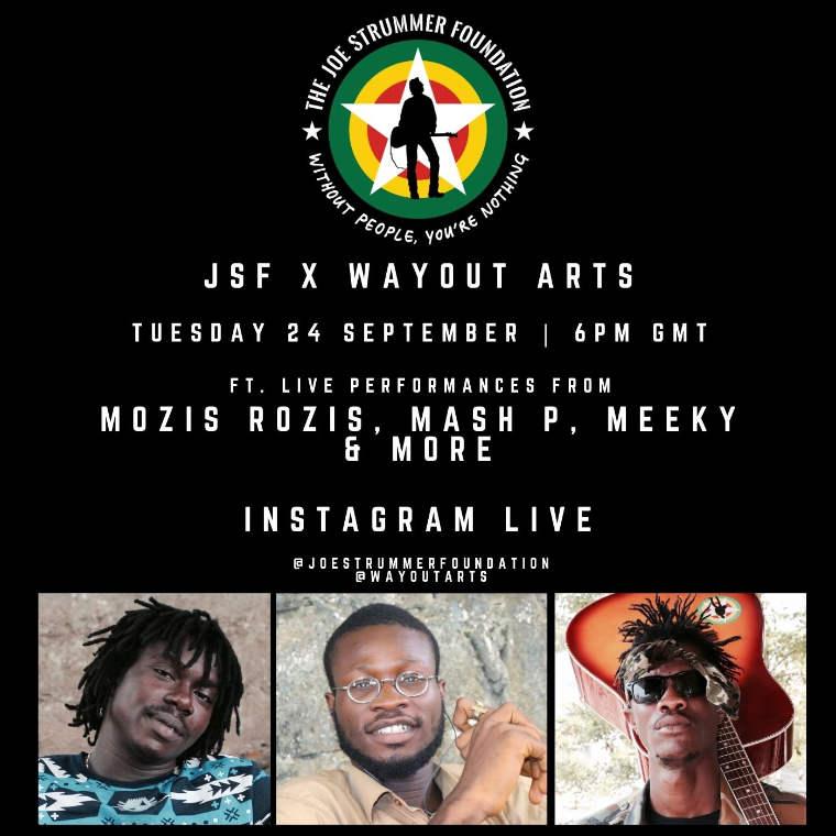 JSF x WAYout Arts (Sierra Leone)