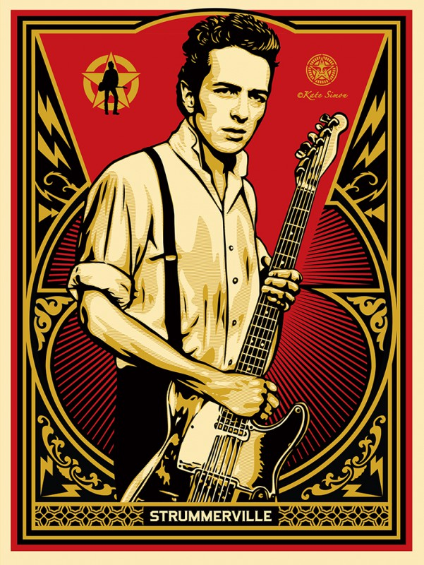 Shepard Fairey - Joe Strummer Limited Edition print