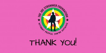Joe Strummer Foundation 2017 – Year In Review
