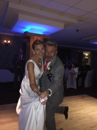 Mr & Mrs. Scott and wedding party help raise £500 for The Joe Strummer Foundation!