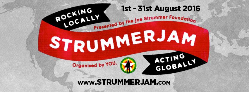 StrummerJam - The Joe Strummer Foundation