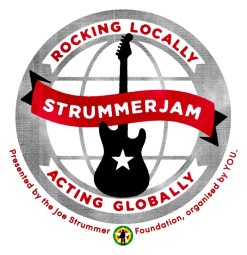 Press Release: #StrummerJam – Rocking Locally, Acting Globally. Fundraising Campaign Now Live!